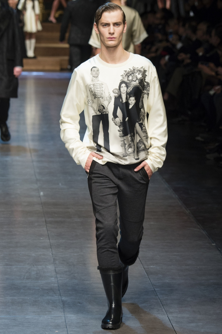 Dolce & Gabbana Menswear осень-зима 2015/2016 #80