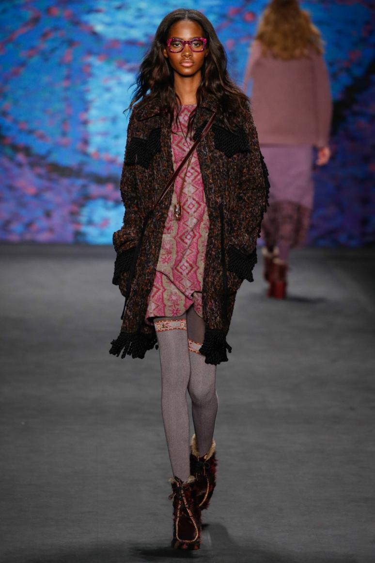 Anna Sui осень-зима 2015/2016 #29