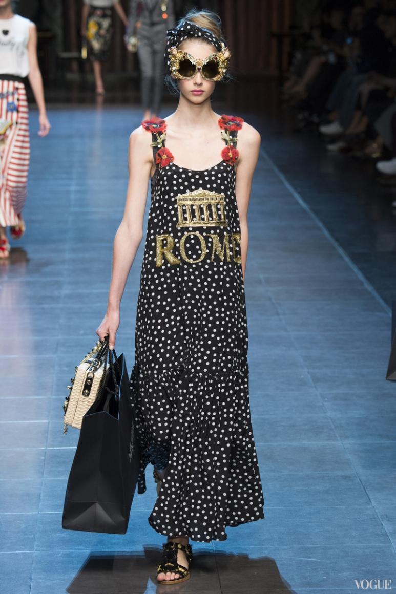Dolce & Gabbana весна-лето 2016 #91