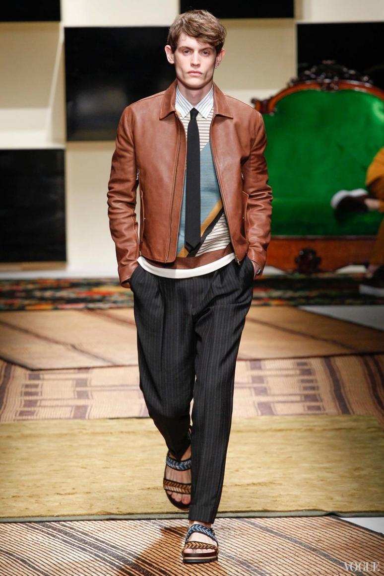 Salvatore Ferragamo Menswear весна-лето 2016 #15