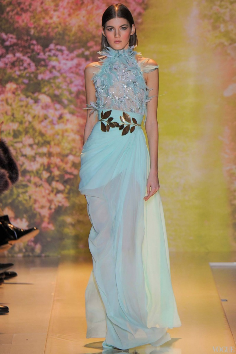 Zuhair Murad Couture весна-лето 2014 #20