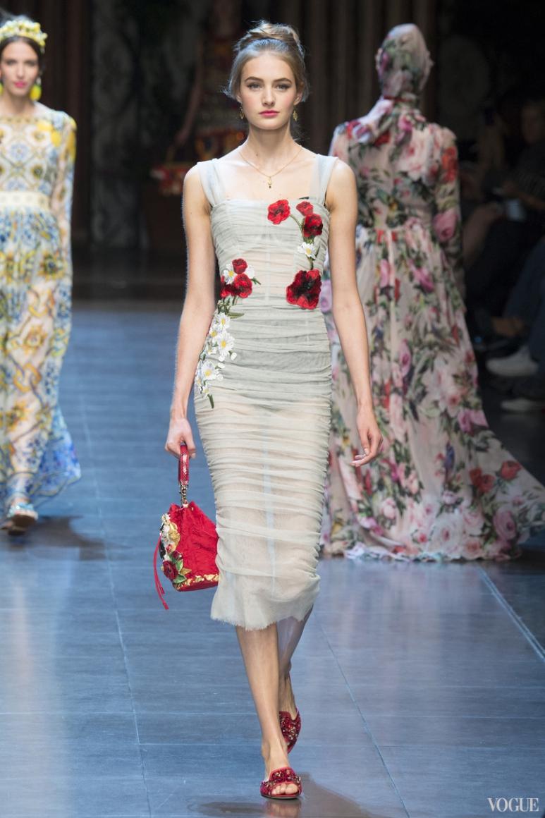 Dolce & Gabbana весна-лето 2016 #59
