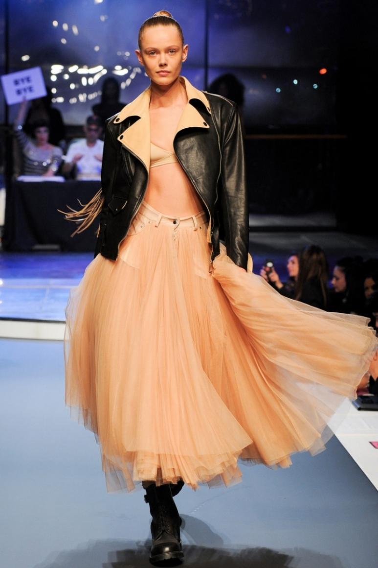 Jean Paul Gaultier весна-лето 2014 #45