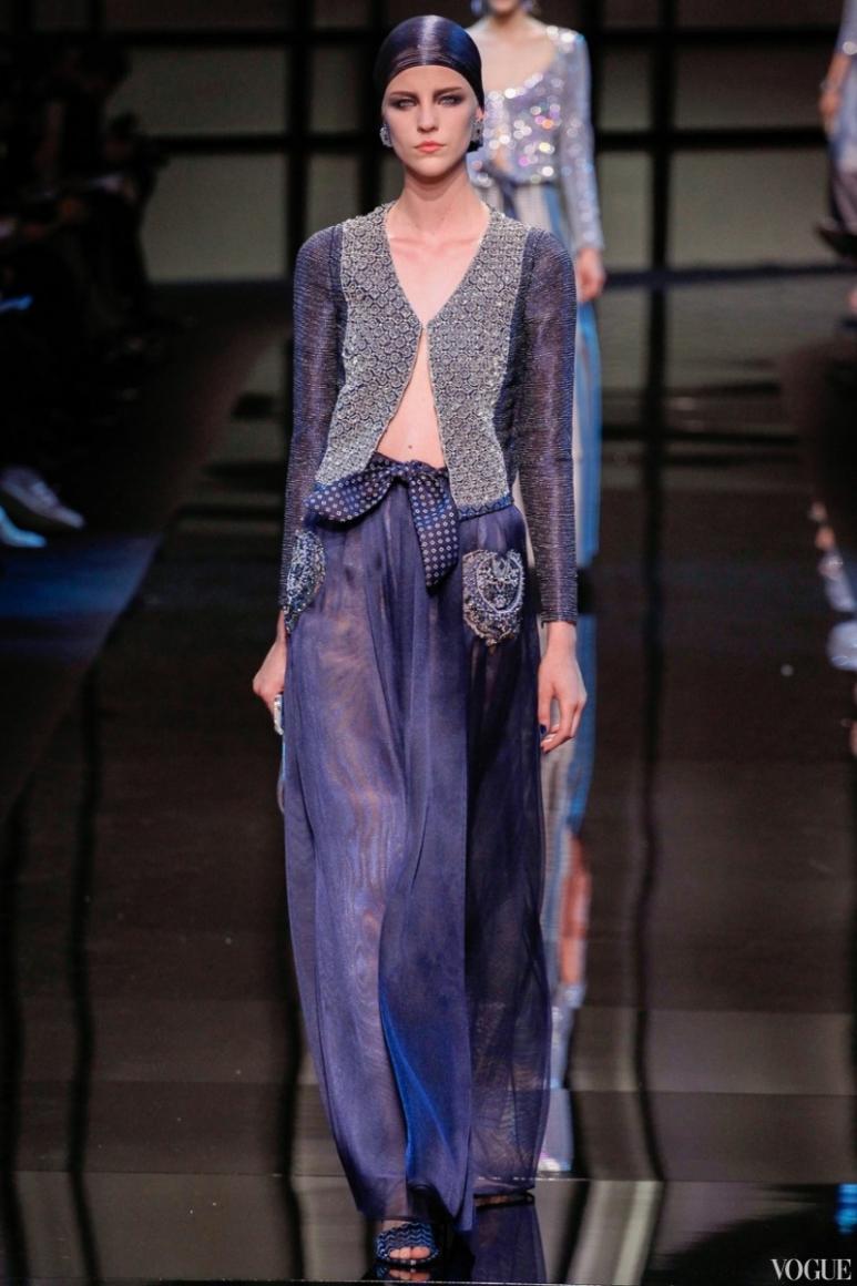 Armani Priv? Couture весна-лето 2014 #19