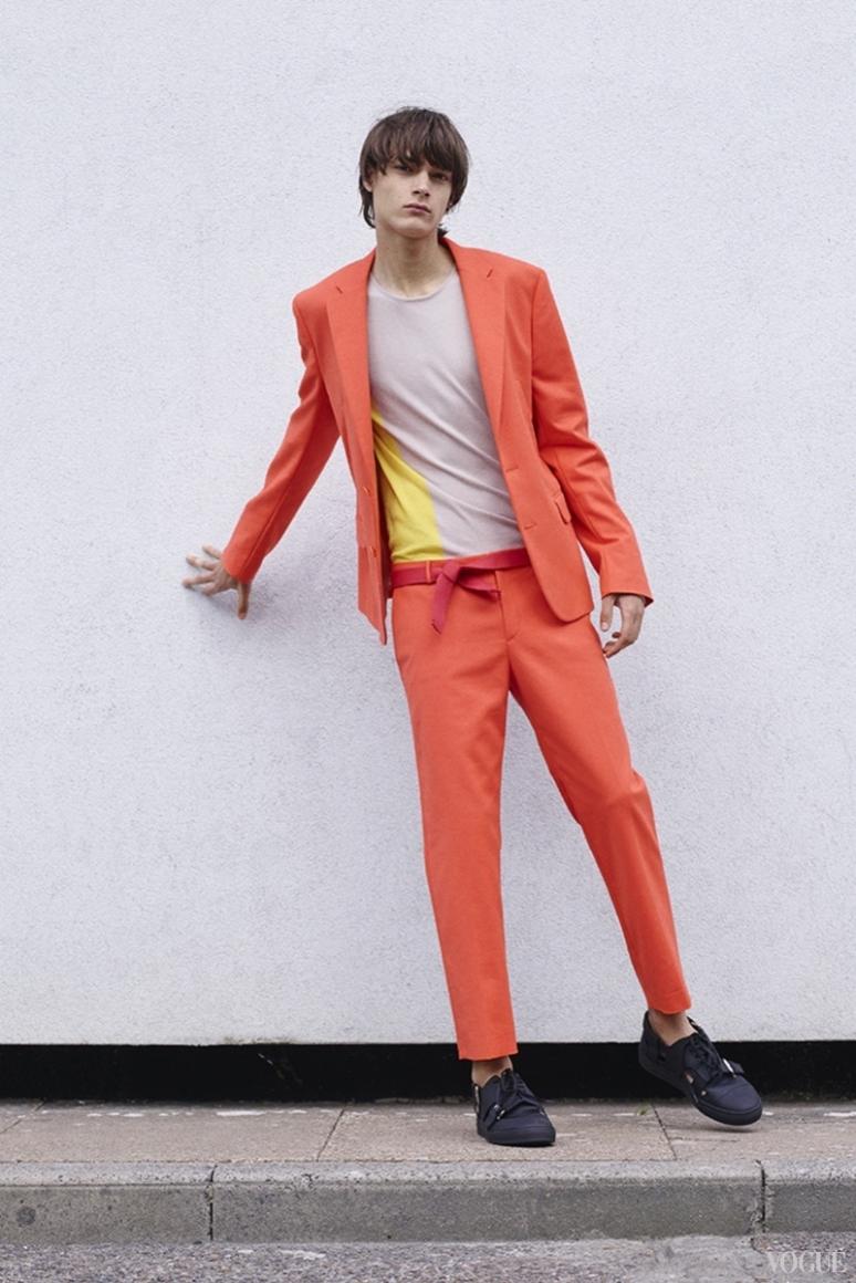 John Galliano Menswear весна-лето 2016 #29
