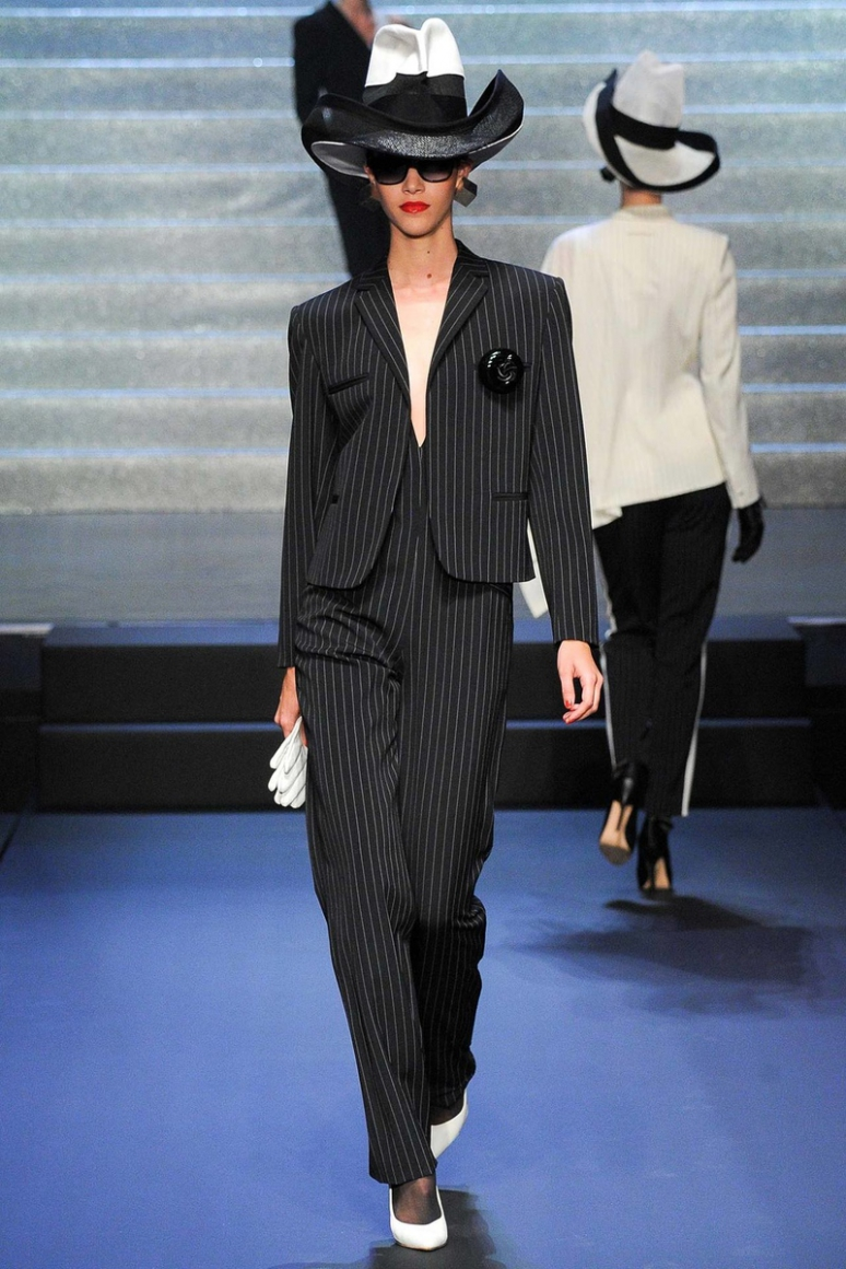 Jean Paul Gaultier весна-лето 2015 #73