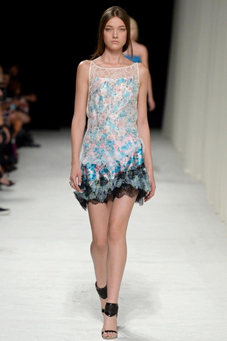 Nina Ricci весна-лето 2014 #10