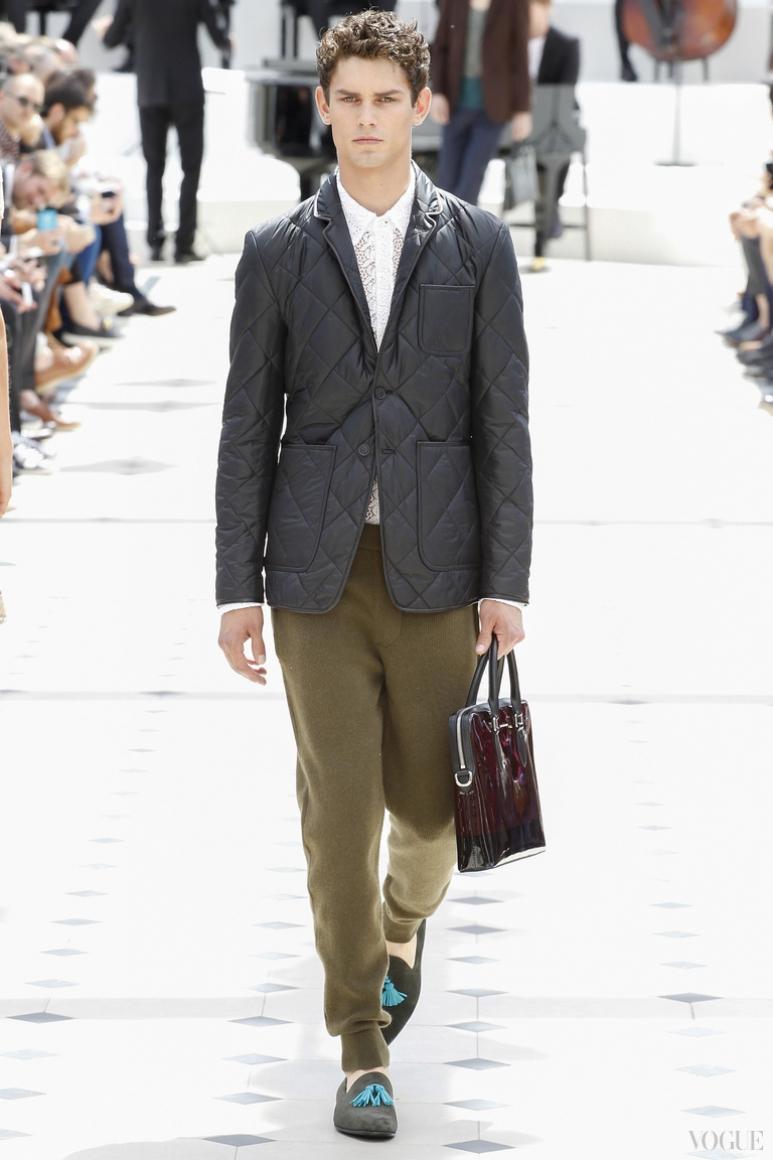 Burberry Prorsum Menswear весна-лето 2016 #45