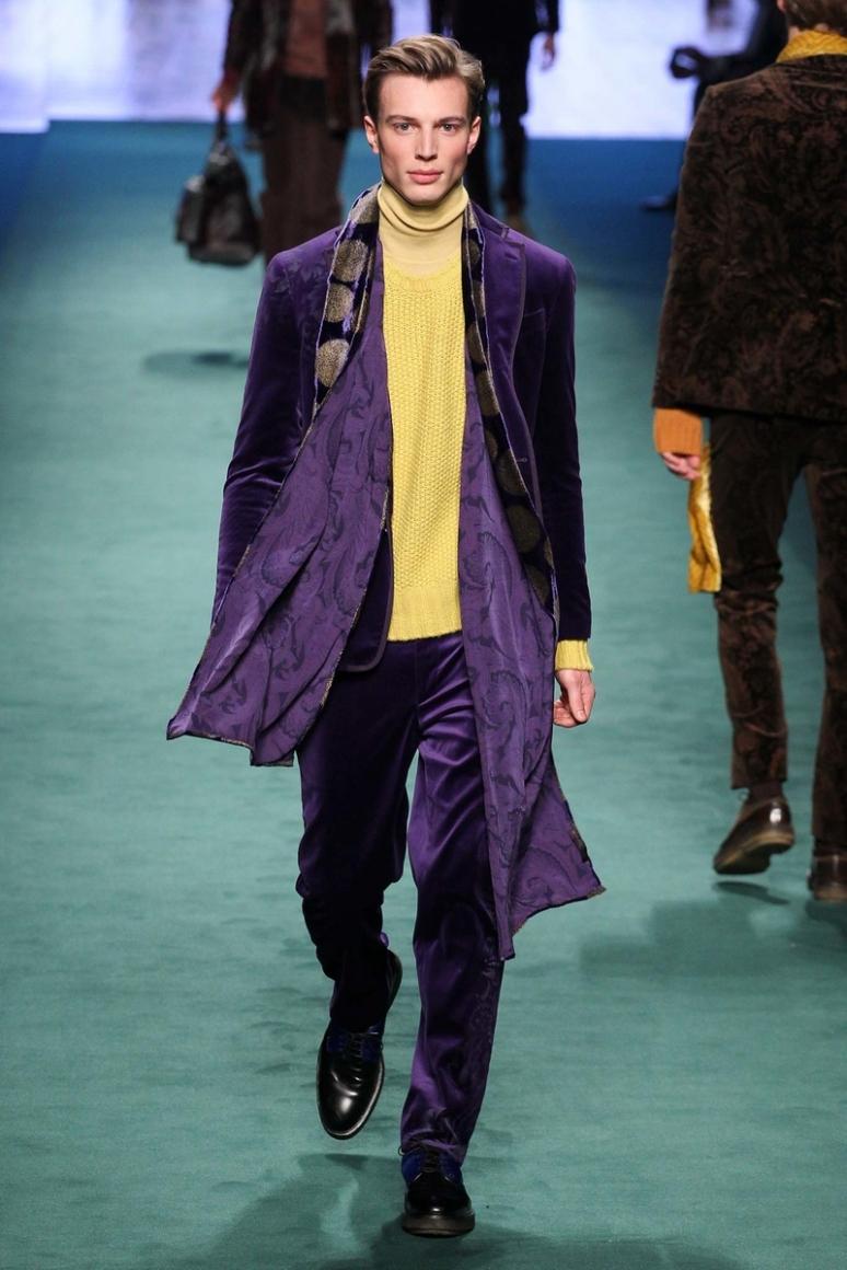 Etro Menswear осень-зима 2015/2016 #8