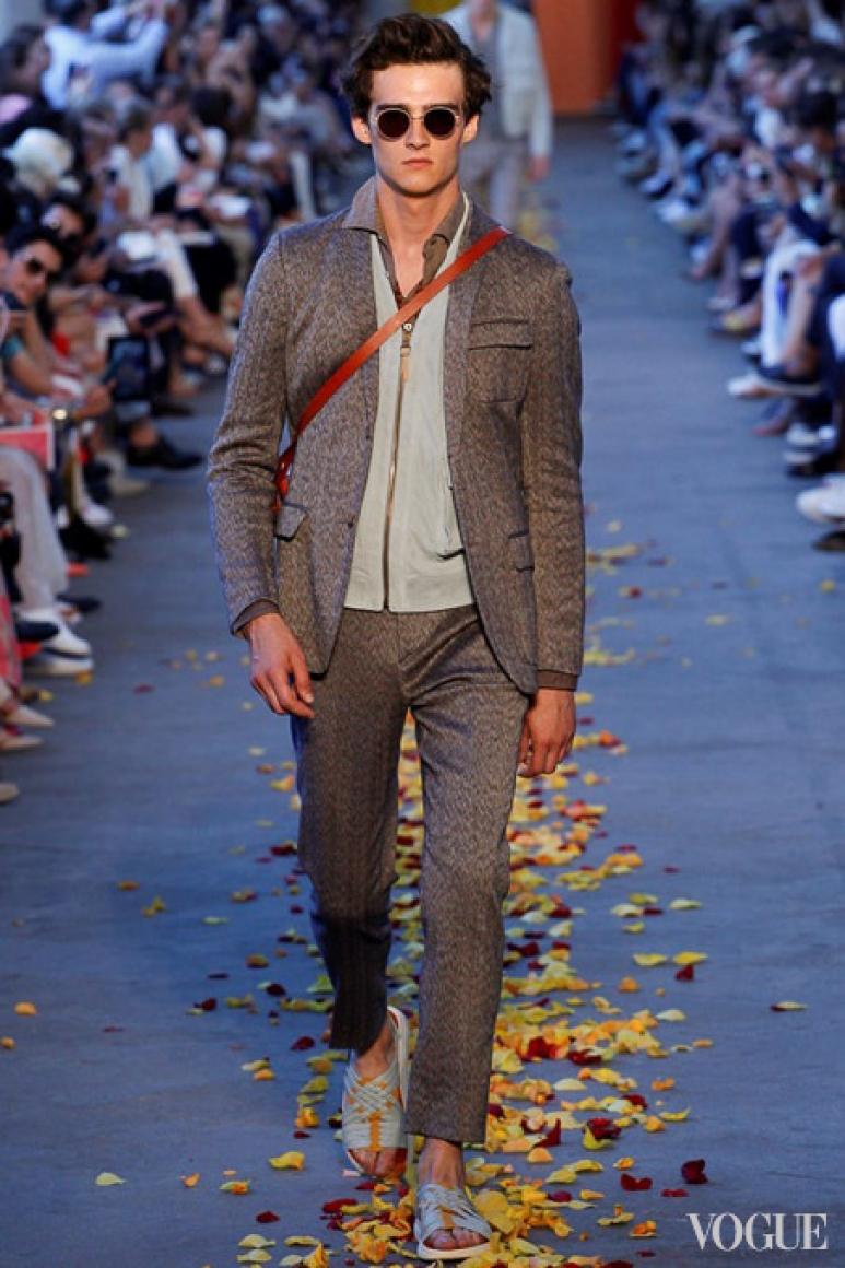 Missoni Menswear весна-лето 2016 #32