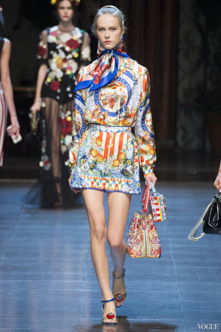 Dolce & Gabbana весна-лето 2016 #32