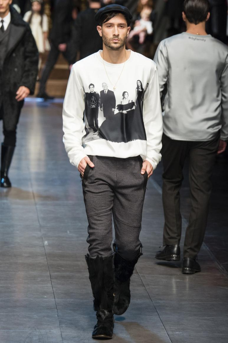 Dolce & Gabbana Menswear осень-зима 2015/2016 #68