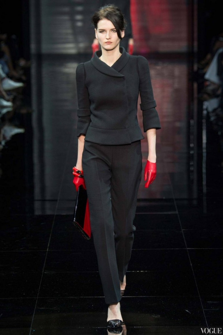 Armani Priv? Couture осень-зима 2014/2015 #51