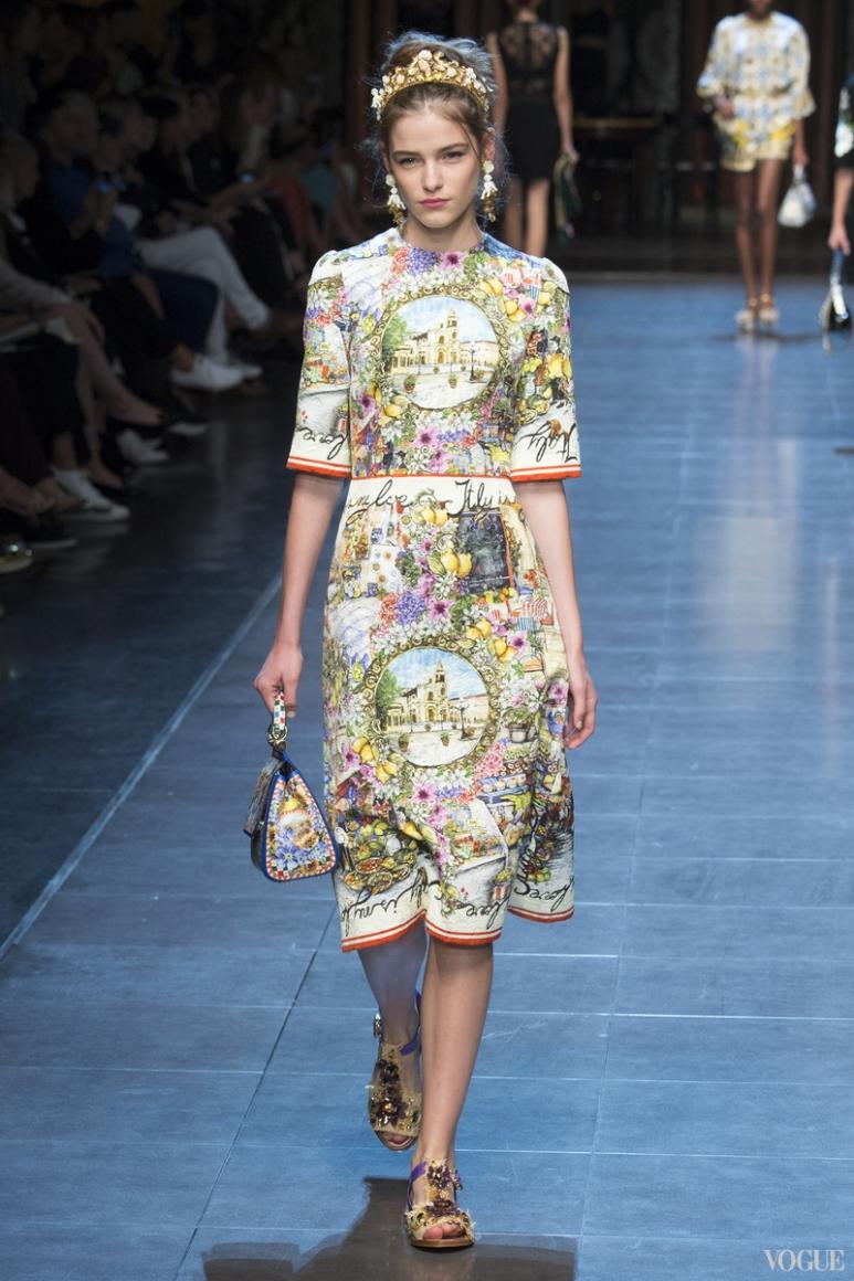 Dolce & Gabbana весна-лето 2016 #12