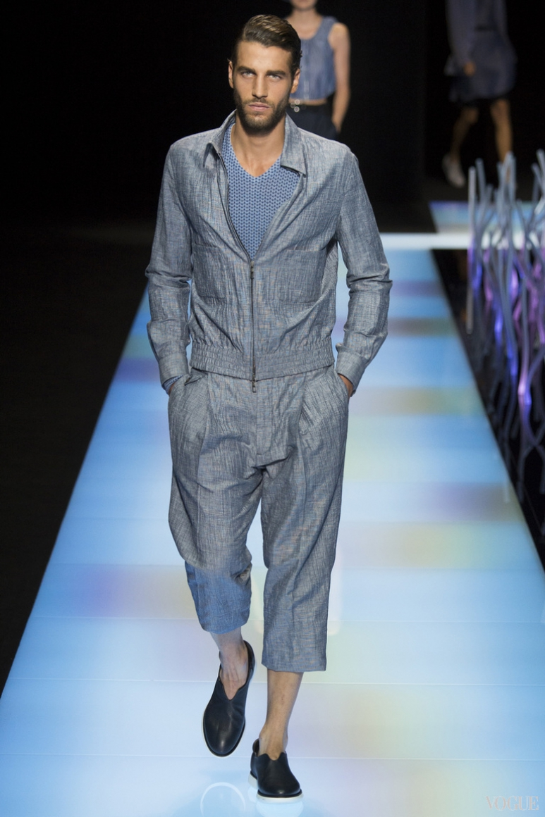 Giorgio Armani Menswear весна-лето 2016 #7