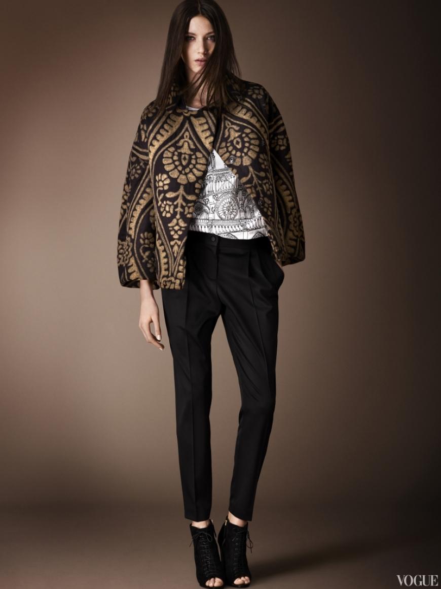 Burberry Prorsum Couture весна-лето 2013 #12