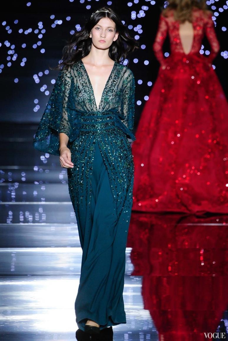Zuhair Murad Couture осень-зима 2015/2016 #40