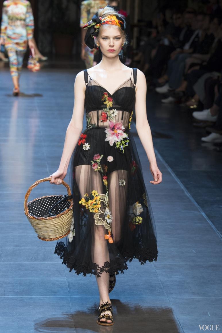 Dolce & Gabbana весна-лето 2016 #23