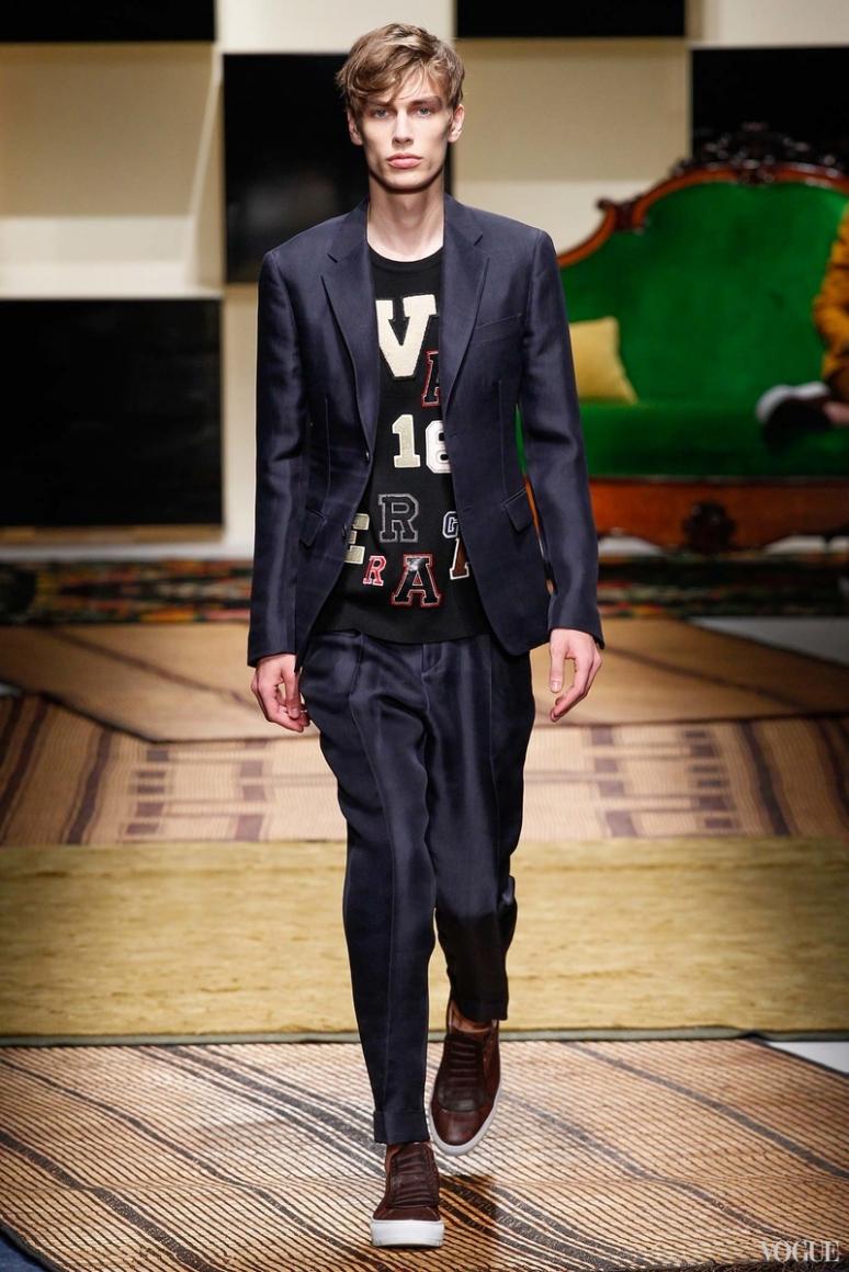 Salvatore Ferragamo Menswear весна-лето 2016 #4