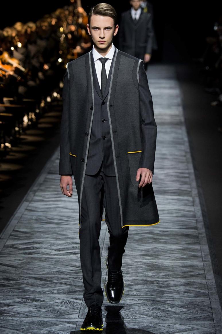 Dior Homme Menswear осень-зима 2015/2016 #10
