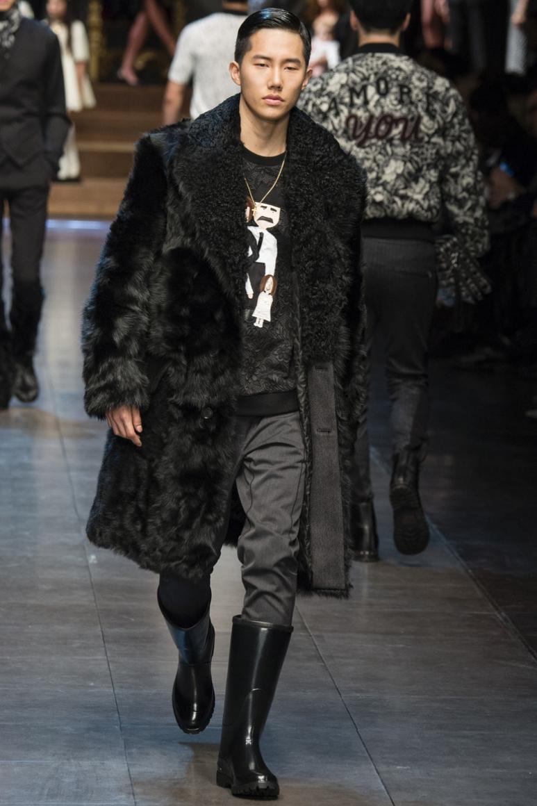 Dolce & Gabbana Menswear осень-зима 2015/2016 #44