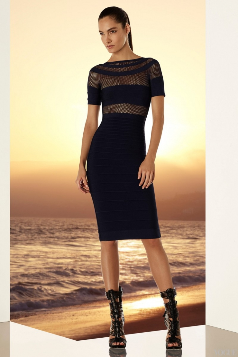 Herve Leger by Max Azria Resort 2015 #10