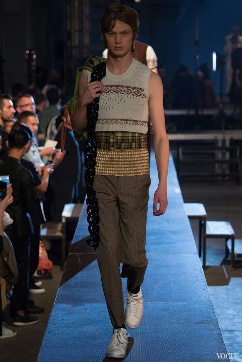 Raf Simons Menswear весна-лето 2016 #33