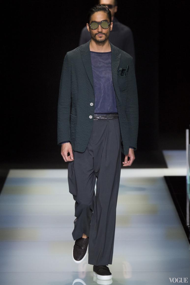 Giorgio Armani Menswear весна-лето 2016 #16