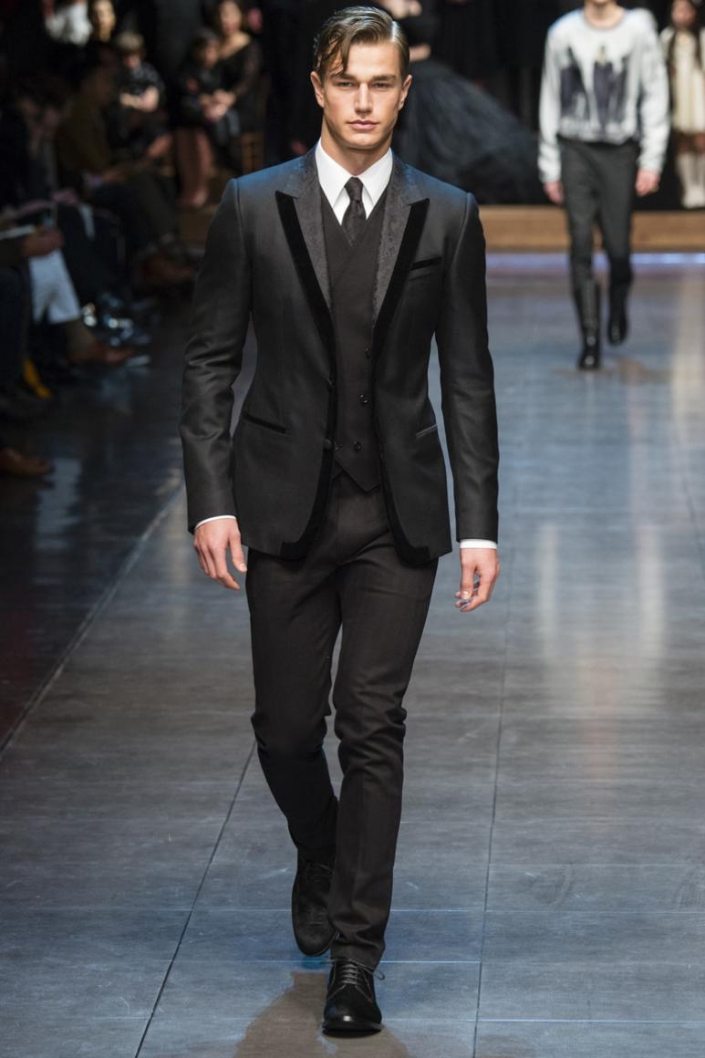Dolce & Gabbana Menswear осень-зима 2015/2016 #12