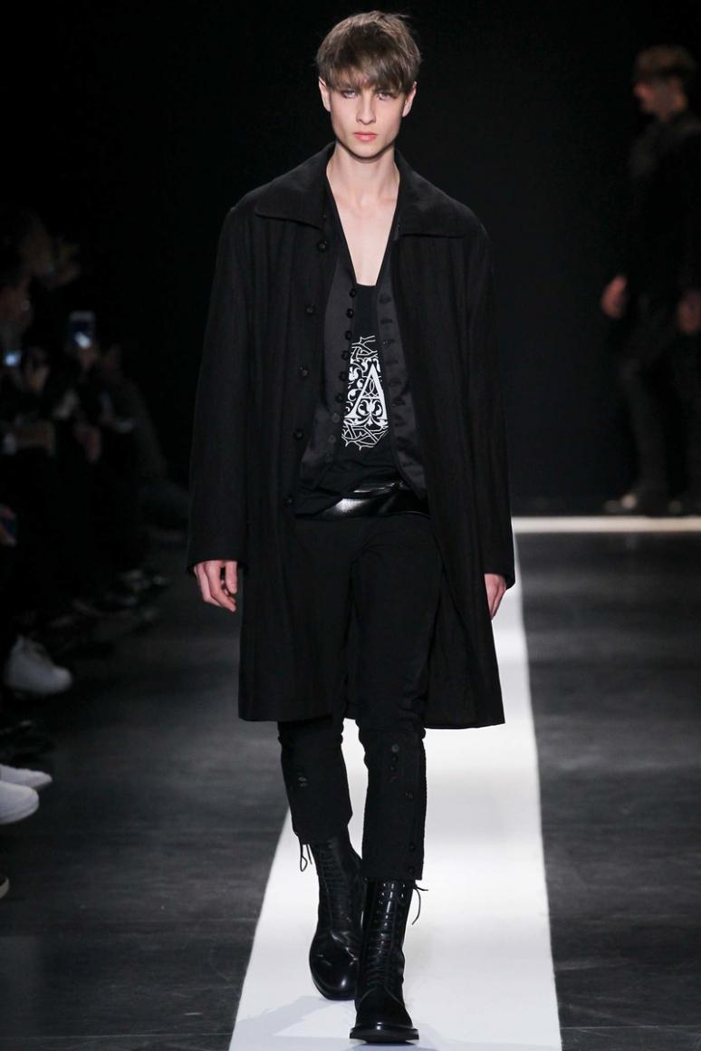 Ann Demeulemeester Menswear осень-зима 2015/2016 #6