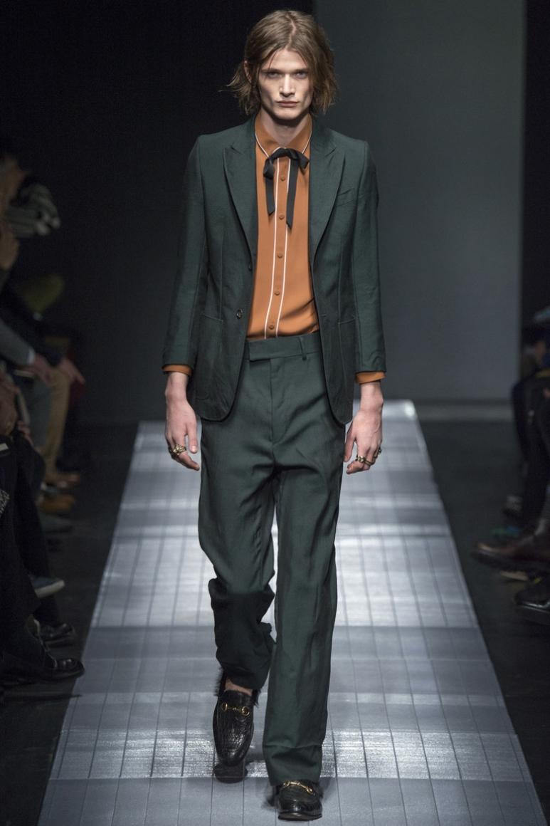 Gucci Menswear осень-зима 2015/2016 #2