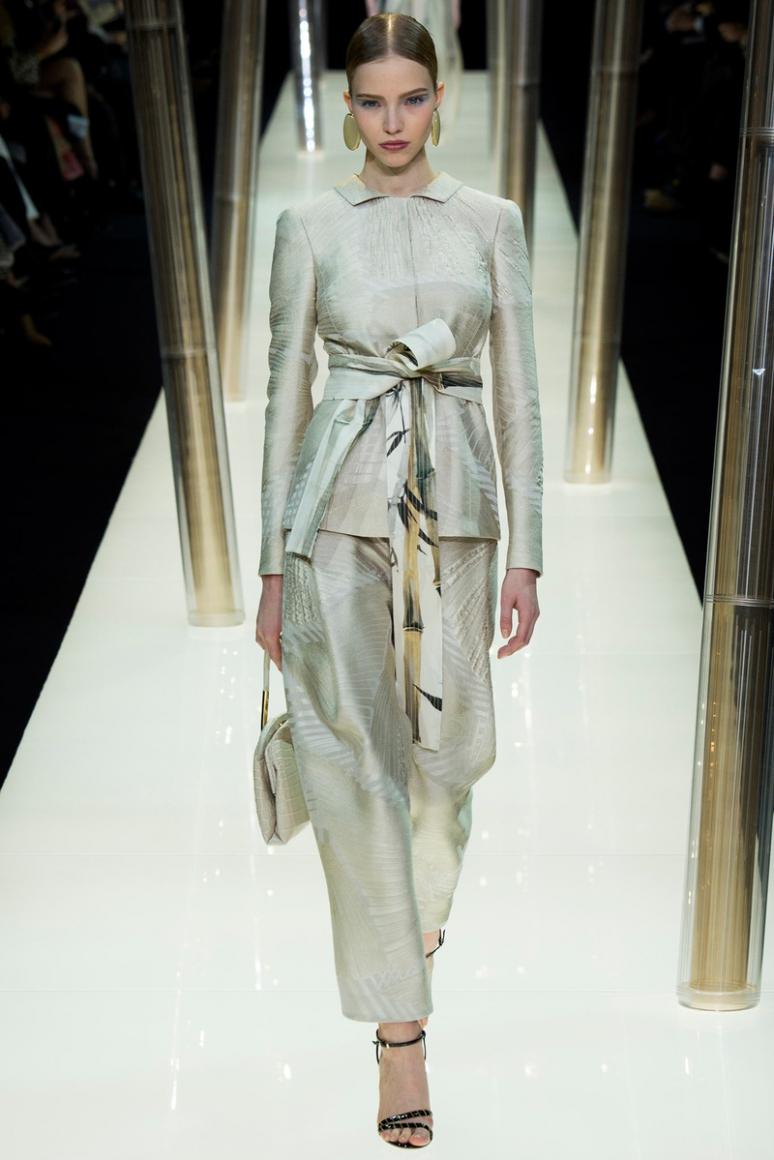 Armani Priv? Couture весна-лето 2015 #62
