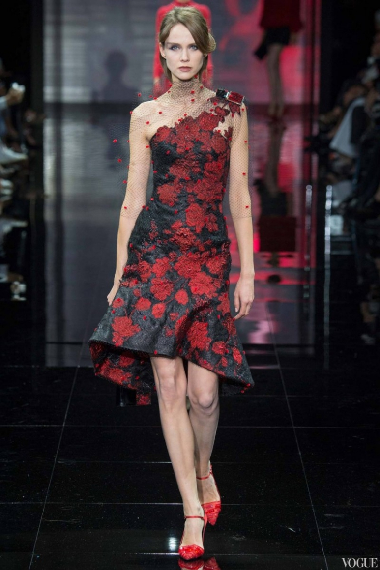 Armani Priv? Couture осень-зима 2014/2015 #60