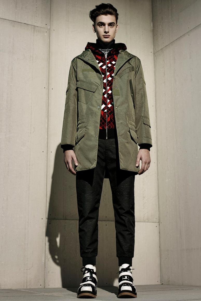 Alexander Wang Menswear осень-зима 2015/2016 #10
