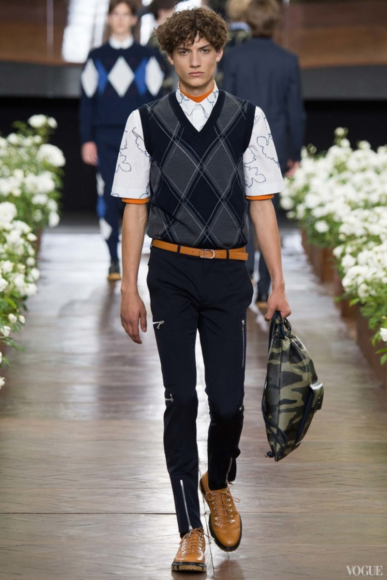 Dior Homme Menswear весна-лето 2016 #36