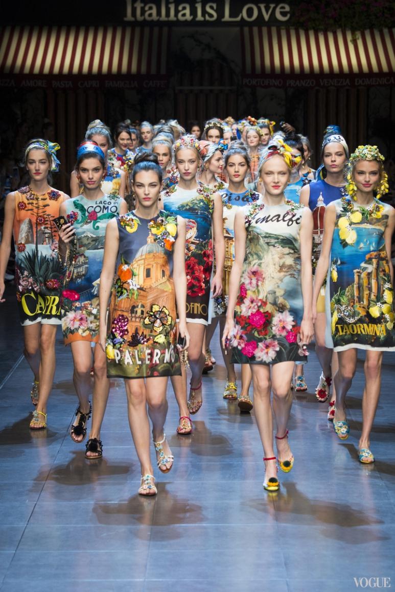 Dolce & Gabbana весна-лето 2016 #3