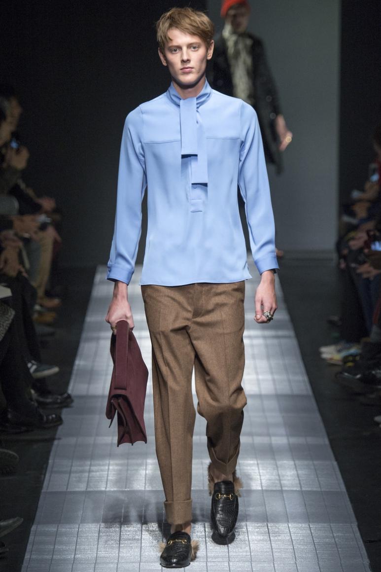 Gucci Menswear осень-зима 2015/2016 #20