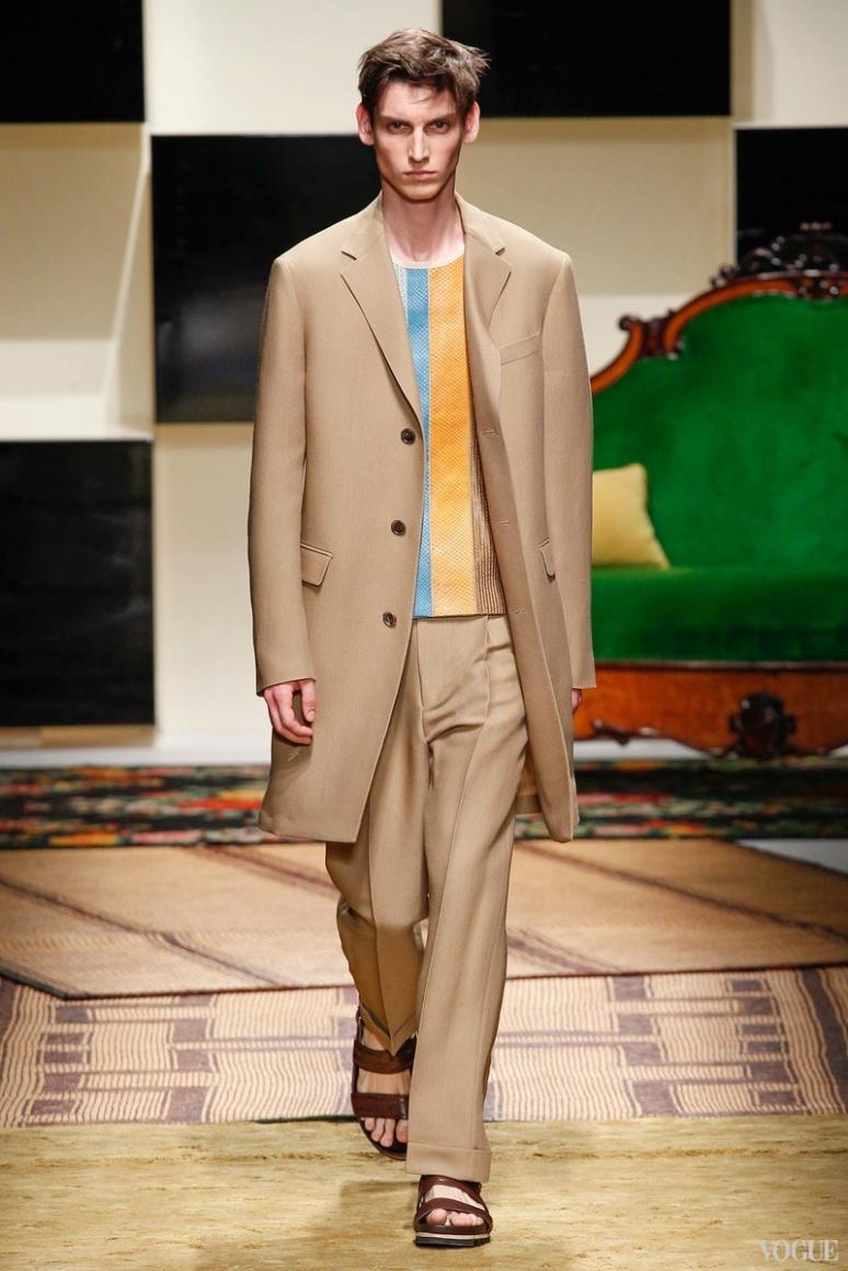 Salvatore Ferragamo Menswear весна-лето 2016 #19