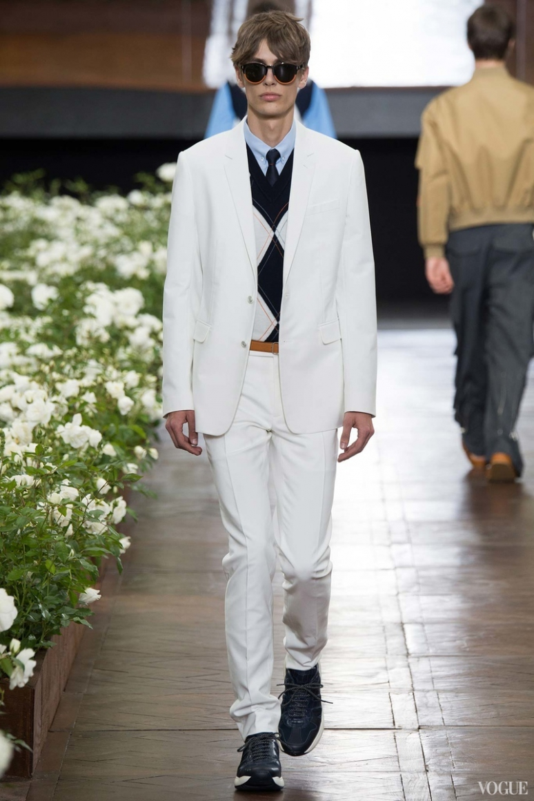 Dior Homme Menswear весна-лето 2016 #18