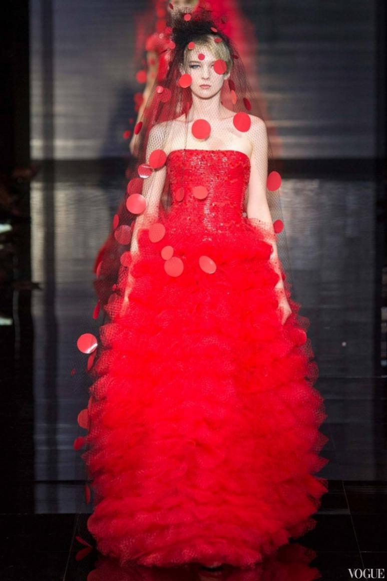 Armani Priv? Couture осень-зима 2014/2015 #6