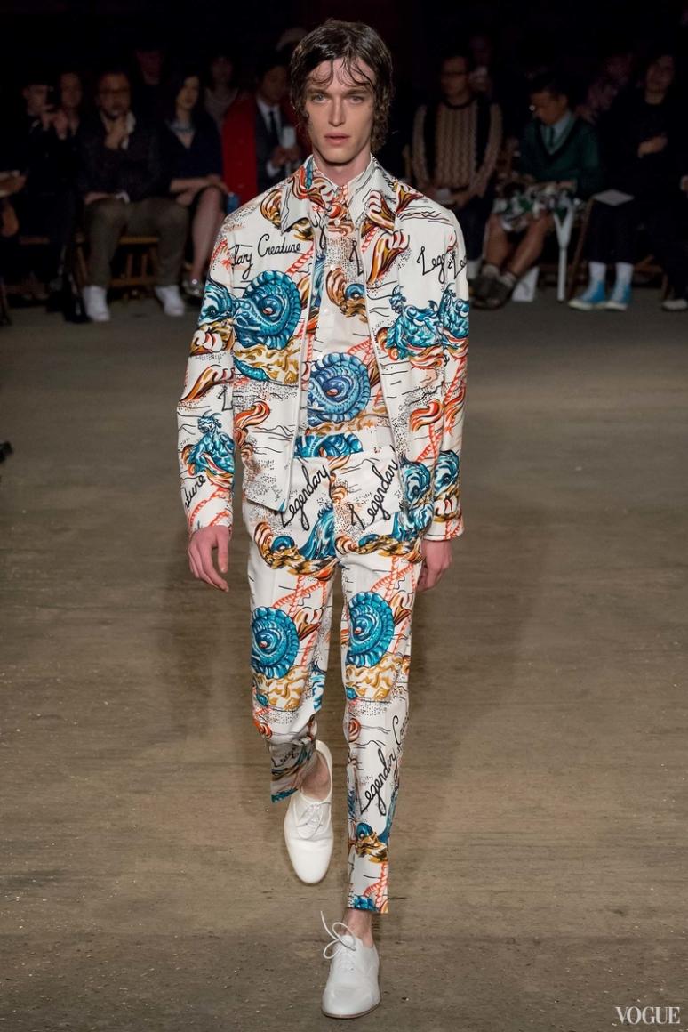 Alexander McQueen Menswear весна-лето 2016 #2