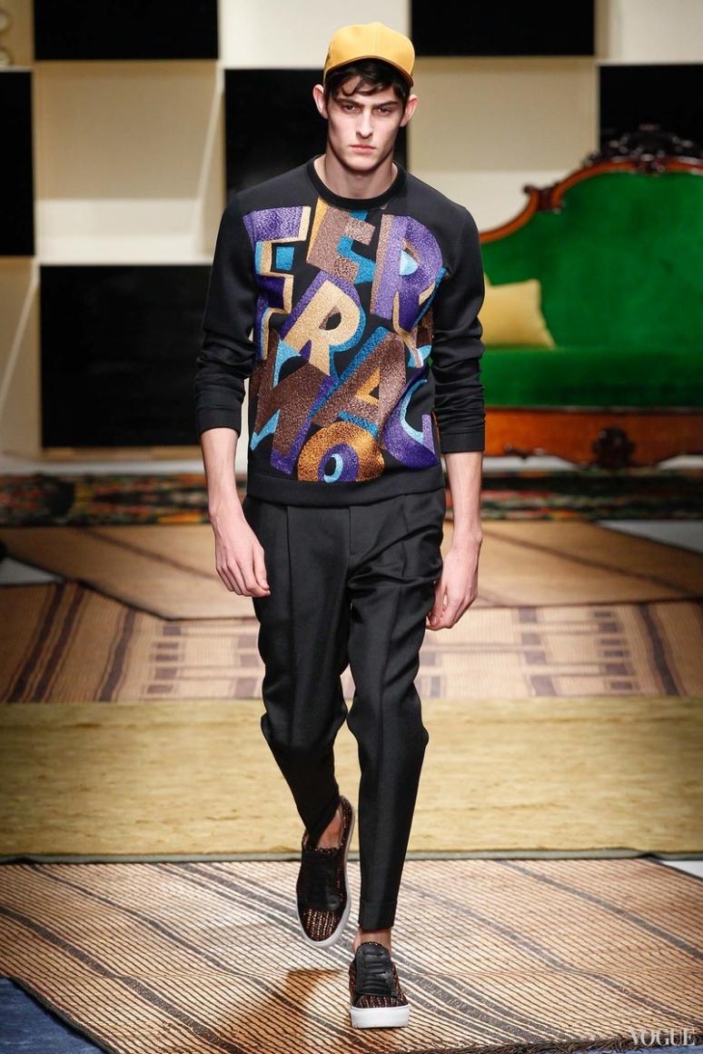 Salvatore Ferragamo Menswear весна-лето 2016 #22