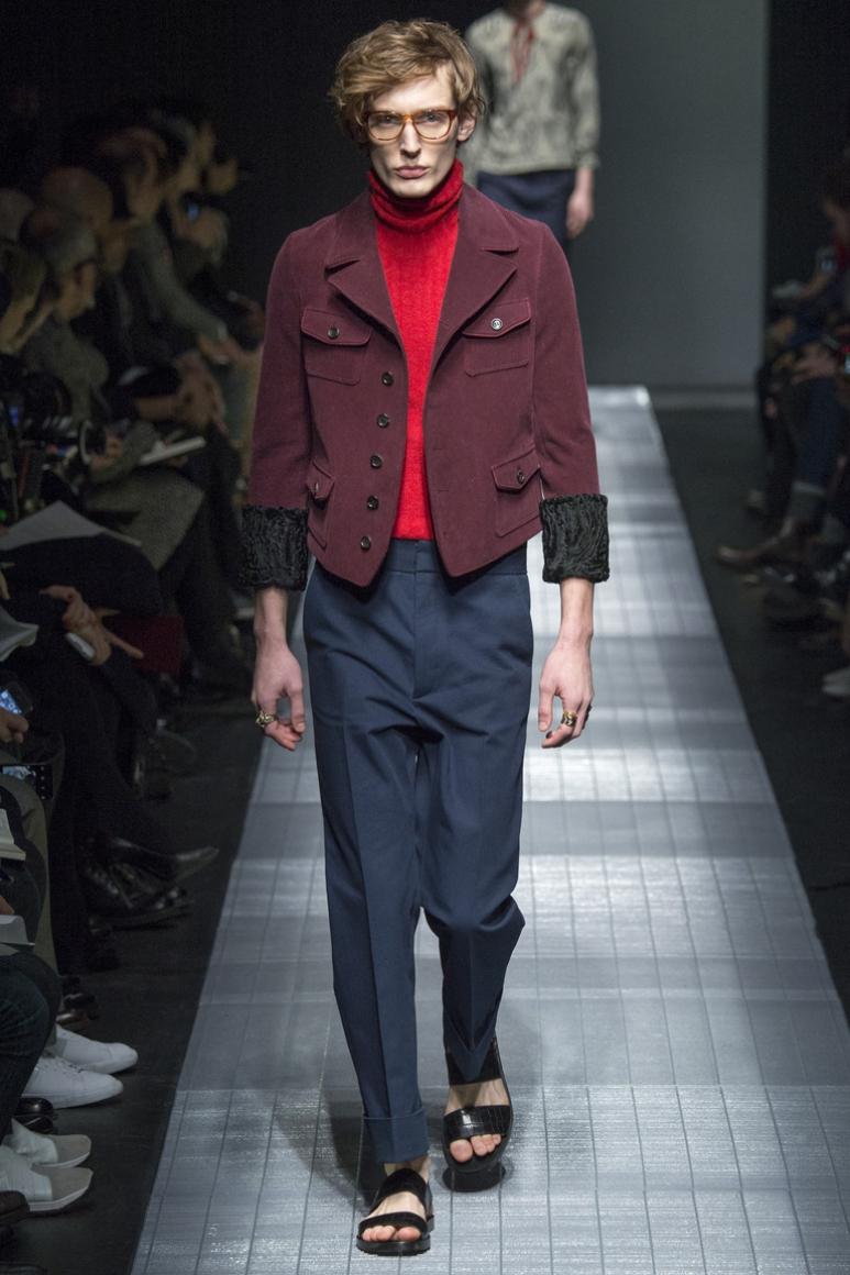 Gucci Menswear осень-зима 2015/2016 #12