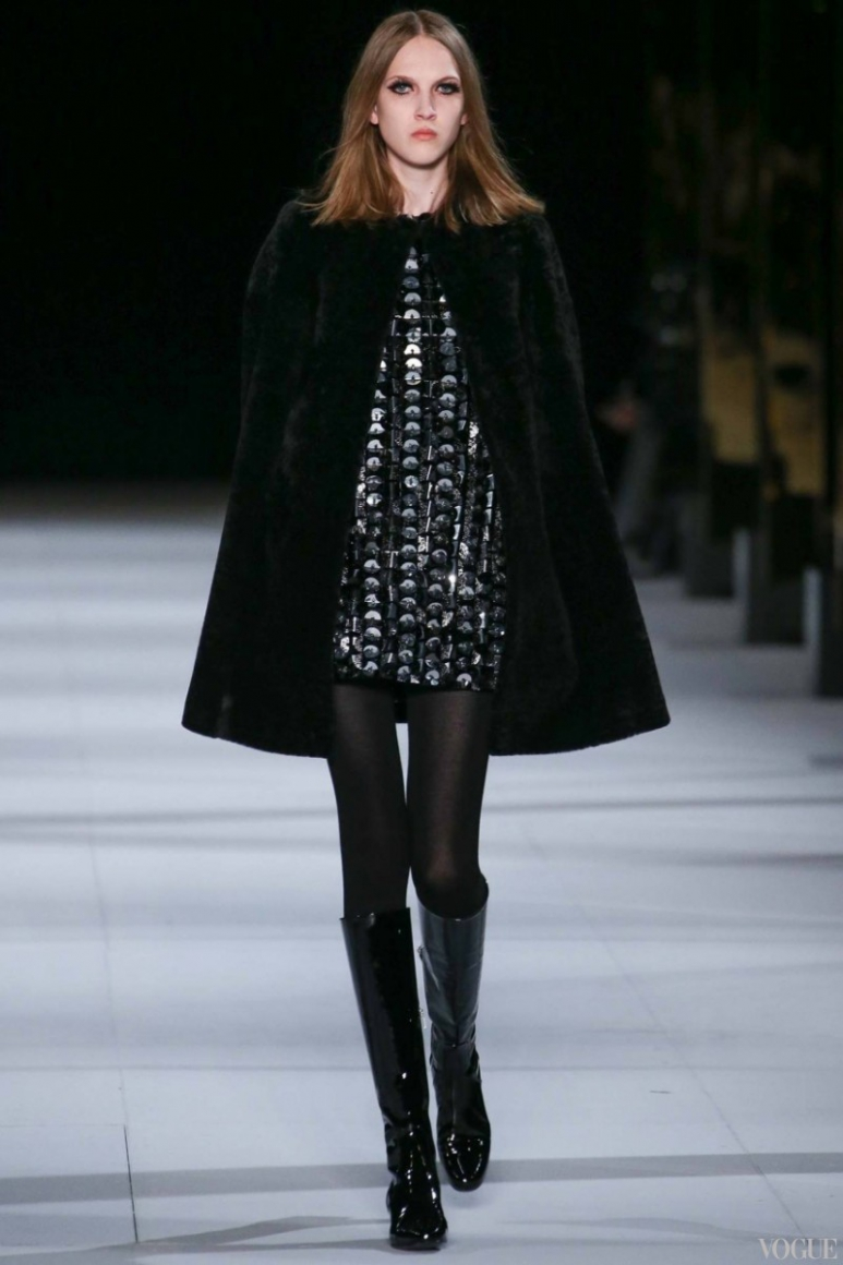 Saint Laurent осень-зима 2014/2015 #26