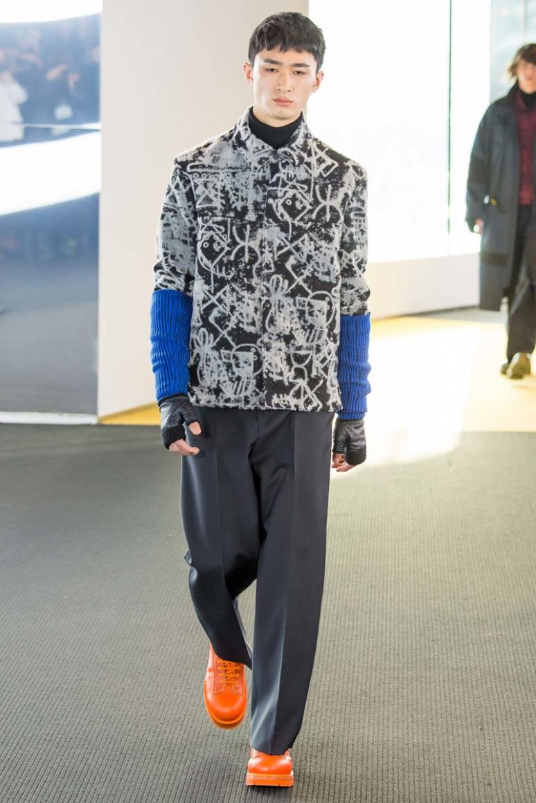 Kenzo Menswear осень-зима 2015/2016 #8