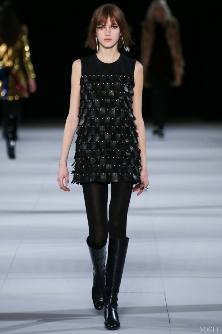 Saint Laurent осень-зима 2014/2015 #31