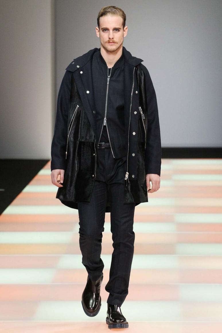 Emporio Armani Menswear осень-зима 2015/2016 #12