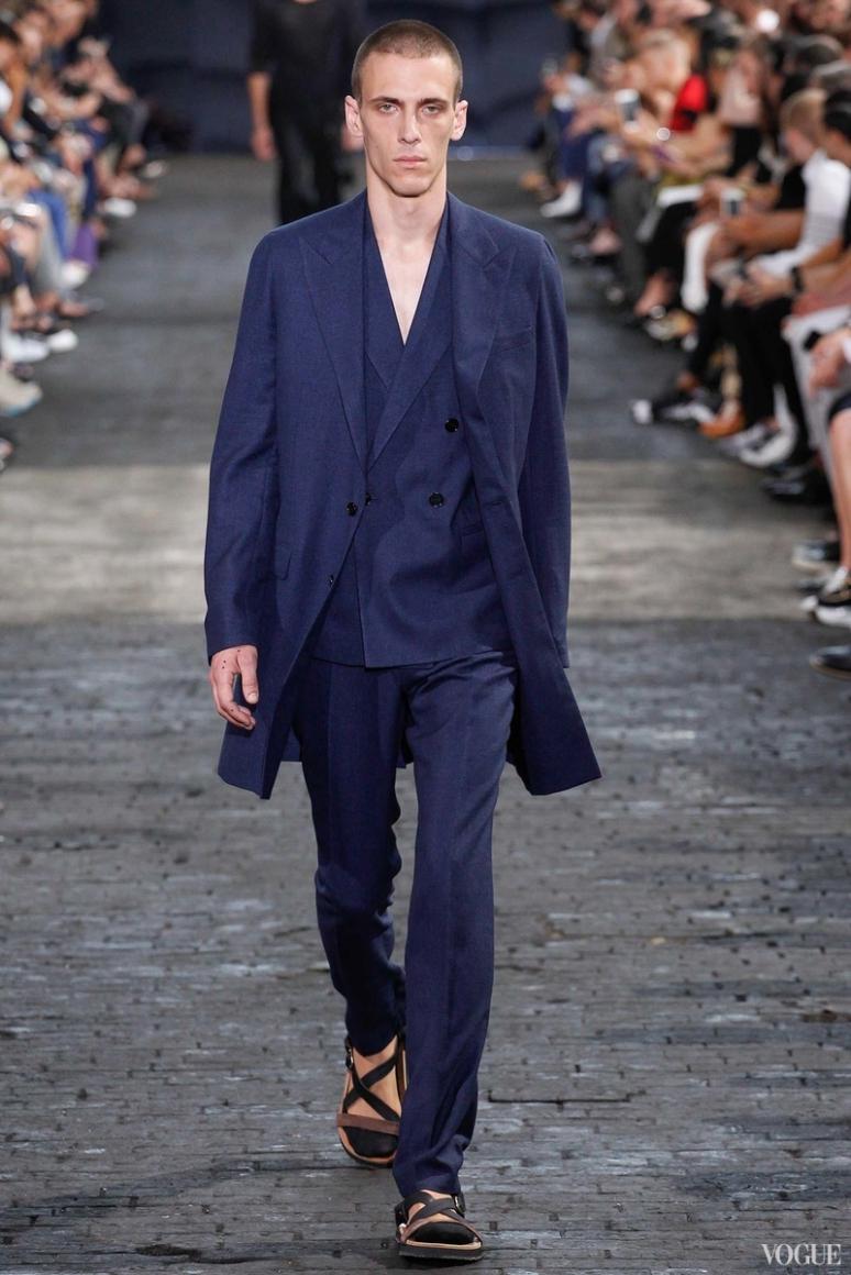 Maison Martin Margiela Menswear весна-лето 2016 #16