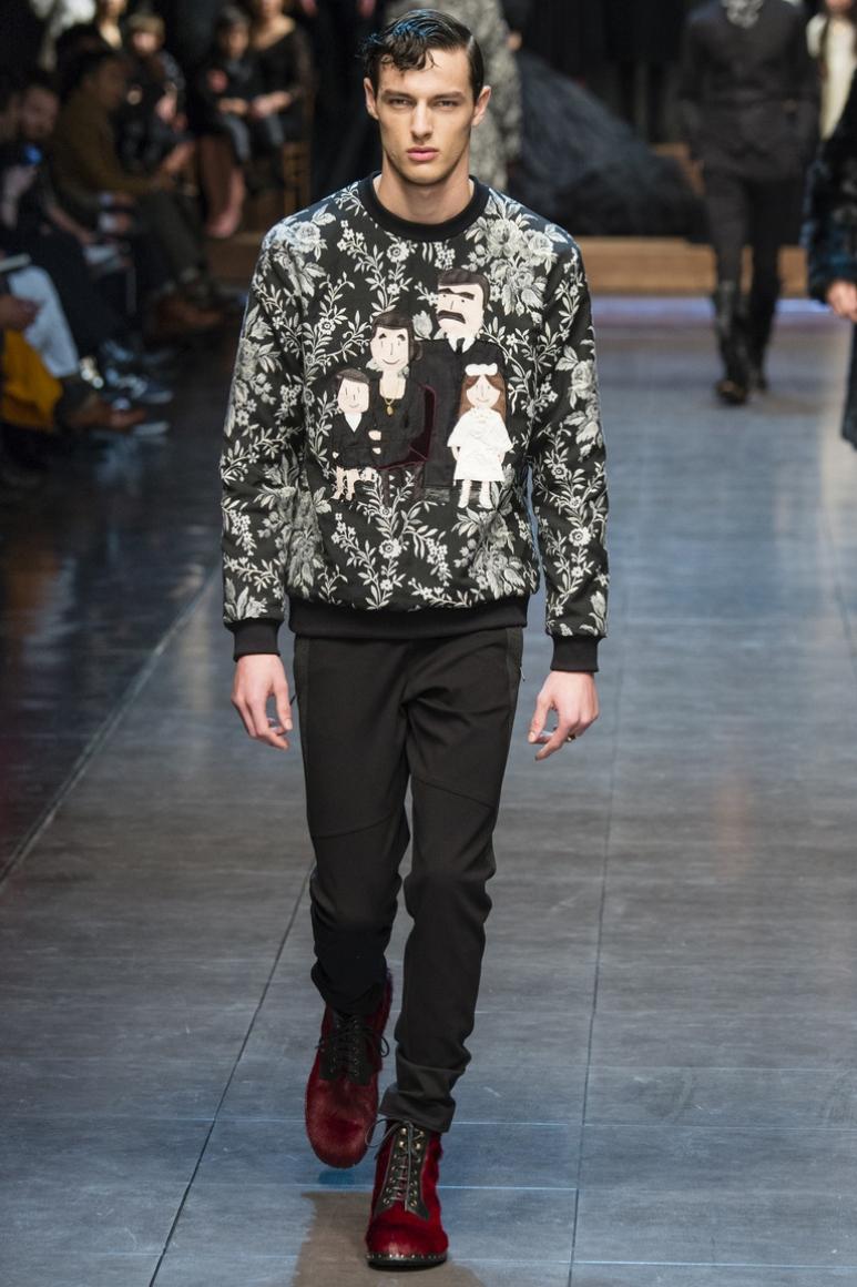 Dolce & Gabbana Menswear осень-зима 2015/2016 #45