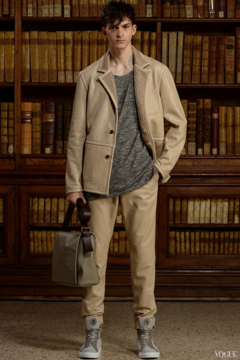 Trussardi Menswear весна-лето 2016 #10